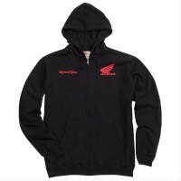 Troy Lee Designs Honda Wing Zip толстовка, черный
