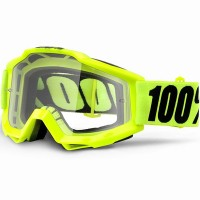 100% Accuri Fluo Yellow OTG Clear Lens мотоочки