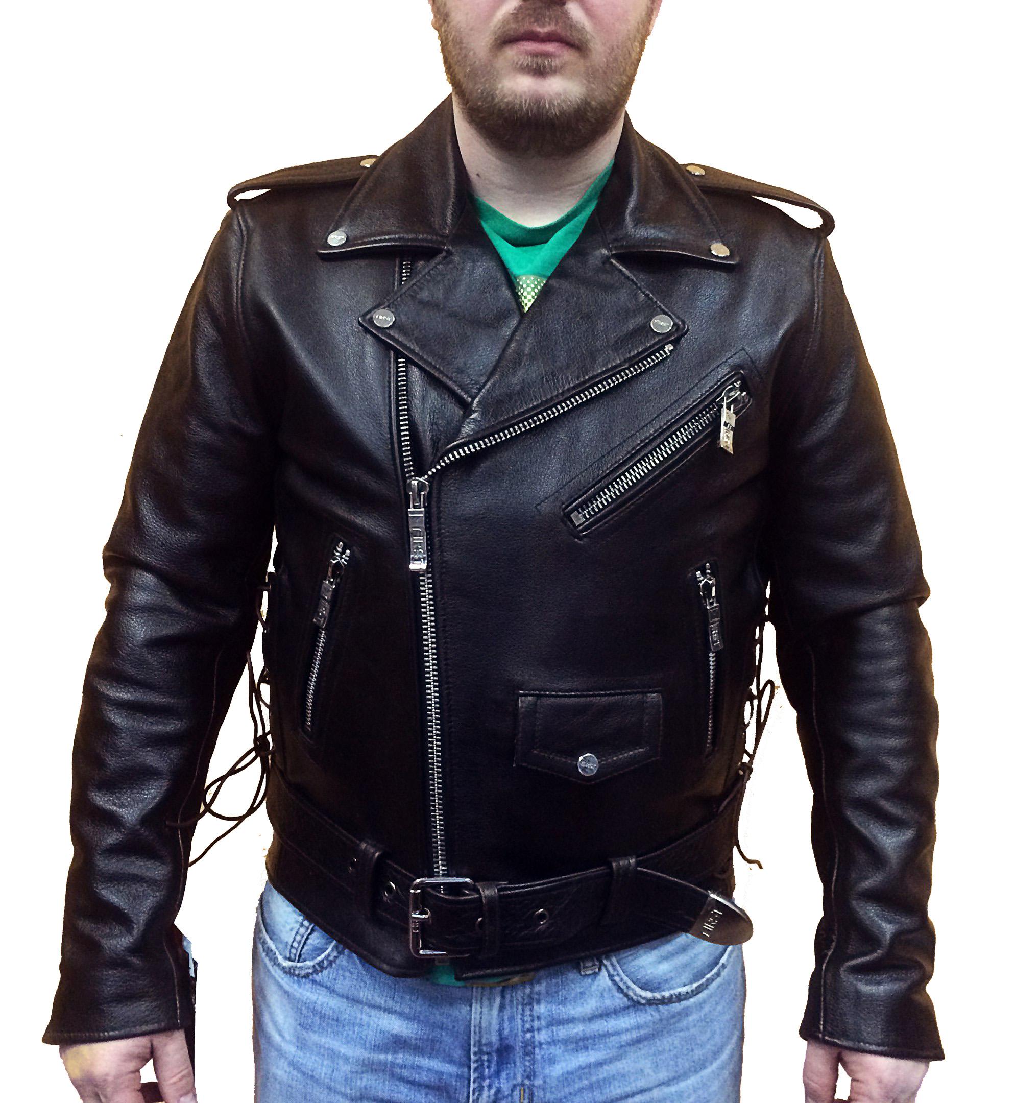 куртка косуха коричневая мужская