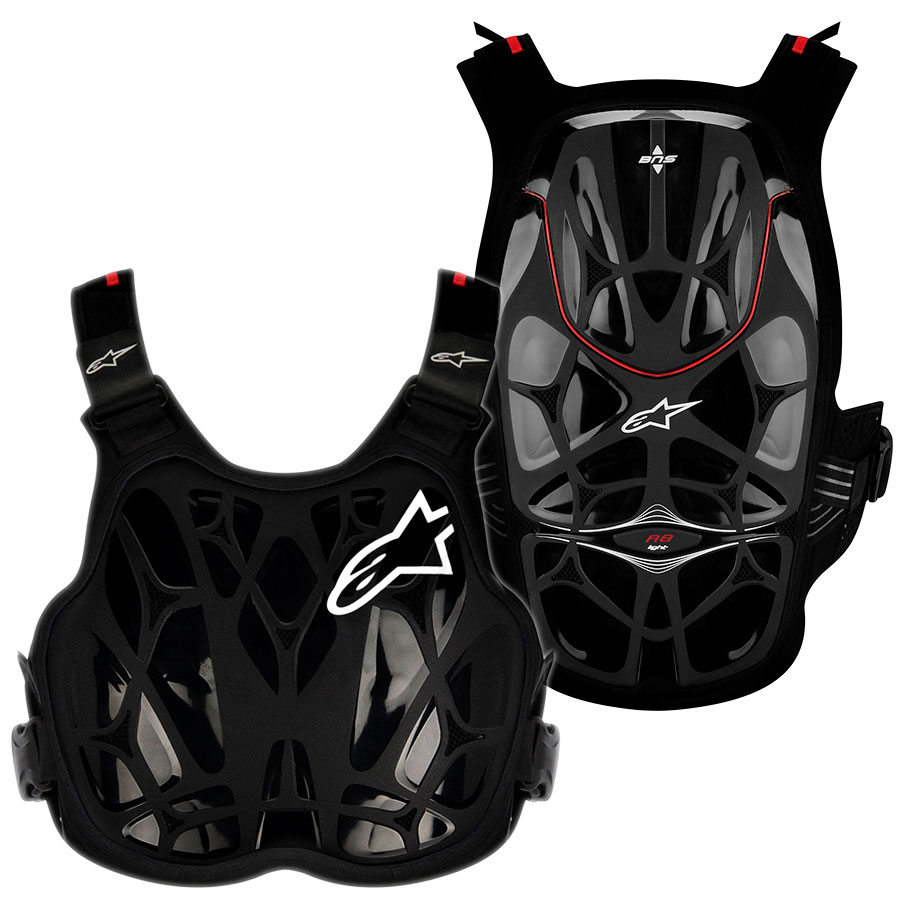 Alpinestars A-8 Light Chest Protection Vest панцирь, черный