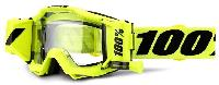 100% Accuri Forecast Fluo Yellow Clear Lens мотоочки