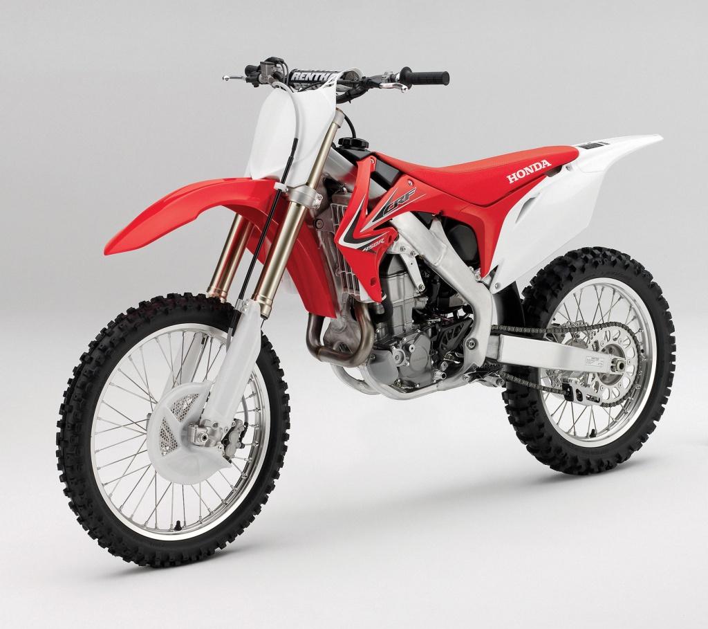 статья история кроссовых мотоциклов Honda современность