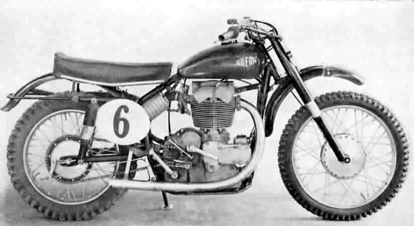 Gilera Saturno Cross 500cc was made between 1952 and 1958.jpg
