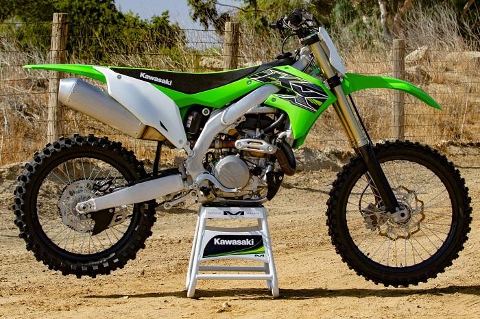 статья тест Kawasaki Kx450 2019 года